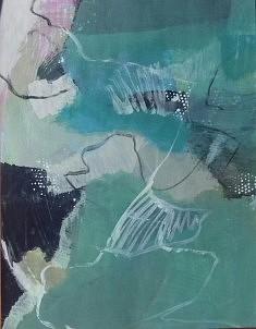 """""""mes paysages 8"""", 65x 55 cm"""