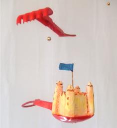 Château de sable, diamètre : 90 cm - 300 €