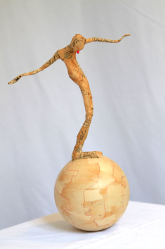 Culbuto 1, hauteur : 35 cm - 450 €