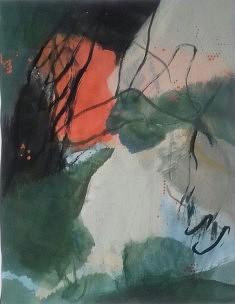 """""""mes paysages 5"""", 65x 55 cm"""