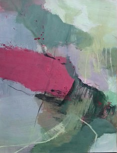 """""""mes paysages 4"""", 65 x55 cm"""