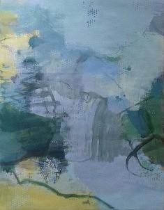 """""""mes paysages 6"""", 65x 55 cm"""