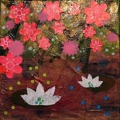 Mili Boom (Peinture, collage)