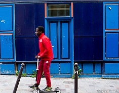 Rouge Et Bleu  (photo Sana Ben Ayed)