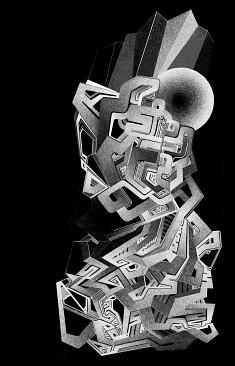 Hydrane Lo, Gravity, 20x15cm