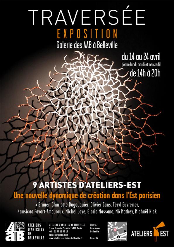 Affiche de l'exposition Traversée