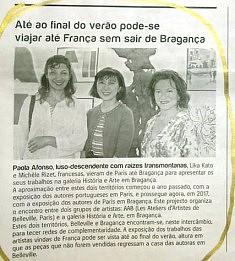 Article dans le  Jornal Nordeste