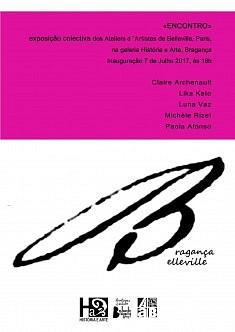 Bragança-Belleville, exposition Encontro (juillet 2017)