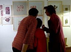 Dans l'atelier d'Armelle Claude - Photo Armelle Claude