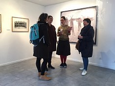 Exposition Traversée, photo © Atelier Serge Barto