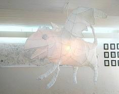 Exposition Encontro : œuvres de Lika Kato (photo História e Arte)