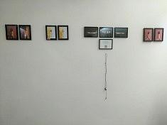 Exposition Encontro : œuvres de Luna Vaz (photo História e Arte)