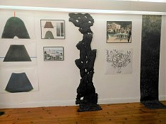 Exposition Encontro : œuvres de Michèle Rizet (photo História e Arte)