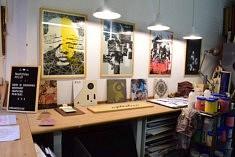 (Français) Dans l'atelier de Brian Cougar (photo Noémie Brancard)