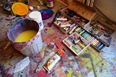 Dans l'atelier de Delphine Epron (photo Noémie Brancard)