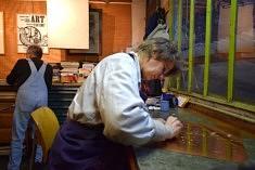 Dans l'atelier Velasco Et Meller (photo Noémie Brancard)