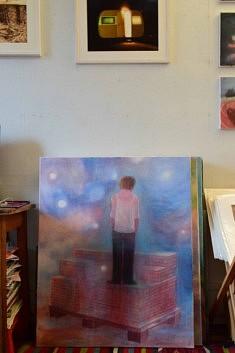 (Français) Dans l'atelier de Catherine Olivier (photo Noémie Brancard)