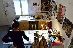 (Français) Dans l'atelier de Delphine Epron (photo Noémie Brancard)