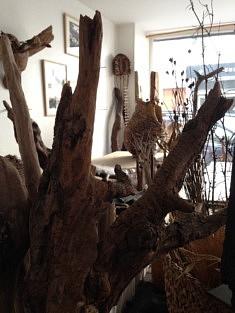 Dans l'atelier de Marie Busson (photo Francesca Nasi)