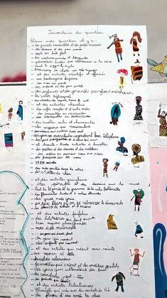 Inventaire à la Prévert - 1 (photo Loïs Pommier)