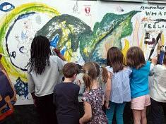 Fresque Participative (photo Loïs Pommier)