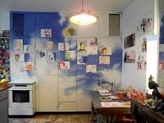 Dans l'atelier d'Isabelle Abiven (photo Loïs Pommier)