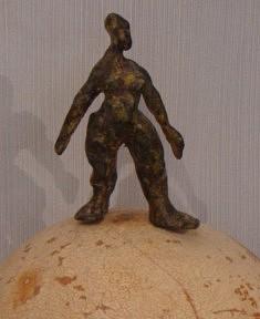 Brigitte Valin, bronze