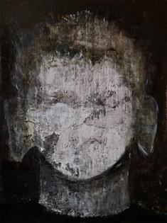 Jean-Pierre Lourdeau, No Name, huile, 130 x 97 cm