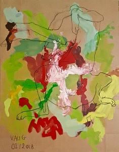 Vaug, Untitled, 90 x 120 cm