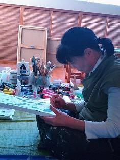 Yuko Fozumi : peinture