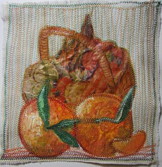 Sylvie KOENIG nature morte technique mixte 20x20 cm