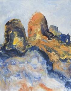 Philippe TERTRAIS,  Paysage Acrylique sur toile 146 x 114 cm
