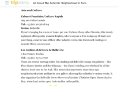 About All About The Belleville Neighborhood in Paris 2019 2