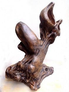 Rêve à l'envers, petite, 2013, H : 20 cm