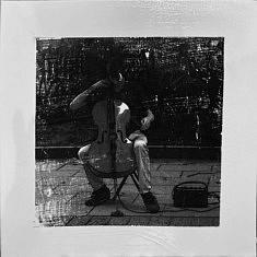 Série Empreintes EM4 - Mémoire, technique mixte sur toile, 40x40x10cm, 2020