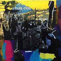Série Digital Street Wall, DSW - V, technique mixte sur toile, 60x60x5cm, 2019