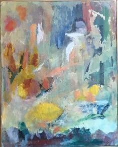 Fragments. Acrylique sur toile 51*41