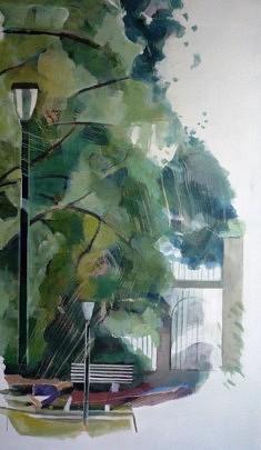 """Série """"danSer au parc"""", 170x100cm"""