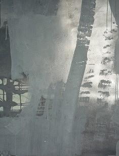 """persistance des gris """" 65 x55 cm"""