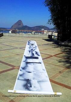 """Territoires"" installation monumentale en extérieur - RIO-de Janeiro (2014)"