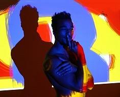 """Performance Expo """"le mouvement et ses allégories"""" avec Louis Samka - Paris 2012"""