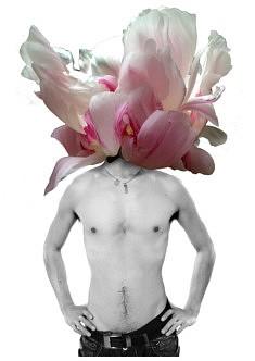 la Comtesse aime le Jardinage (pivoine blanche) - Impression numérique (2018)