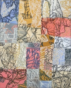 FRAGMENTS AA-Toile 100×81 2011