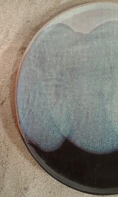 grès émaillé