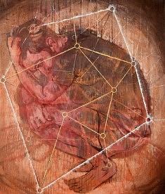 Frustrations - 2014 - acrylique sur toile - 55x46 cm