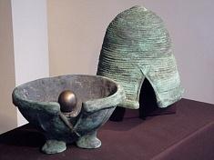 vase rituel yin ouvert  (photo Pierre Mendel)