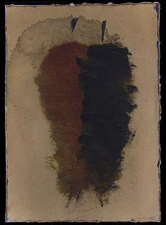 Sans titre, à deux. Acrylique sur carton. 2011.