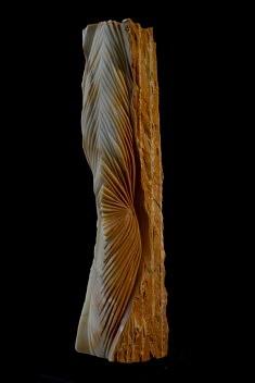 Révélation - Jaune de Sienne – 51 x 11 x 16 cm