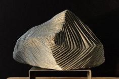 Vortex - Granite – 30 x 47 x 17 cm