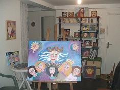 Fémina - Peinture à l'huile